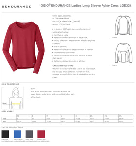 LADIES GIANTSLAYER OGIO LONG SLEEVE TEE