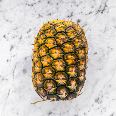 Topless pineapple Each