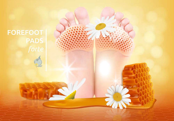 forefoot pads confortable