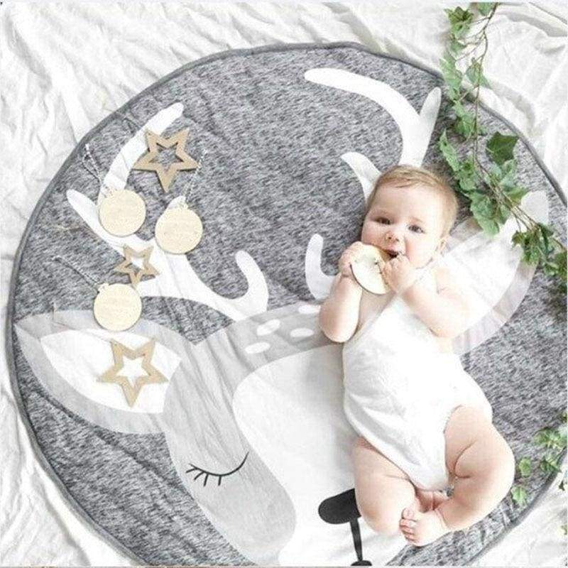Blu's Baby Boutique Gray Bunny Animal Playmat Children Store Toddler Newborn Child Infant Baby Kids Online Store