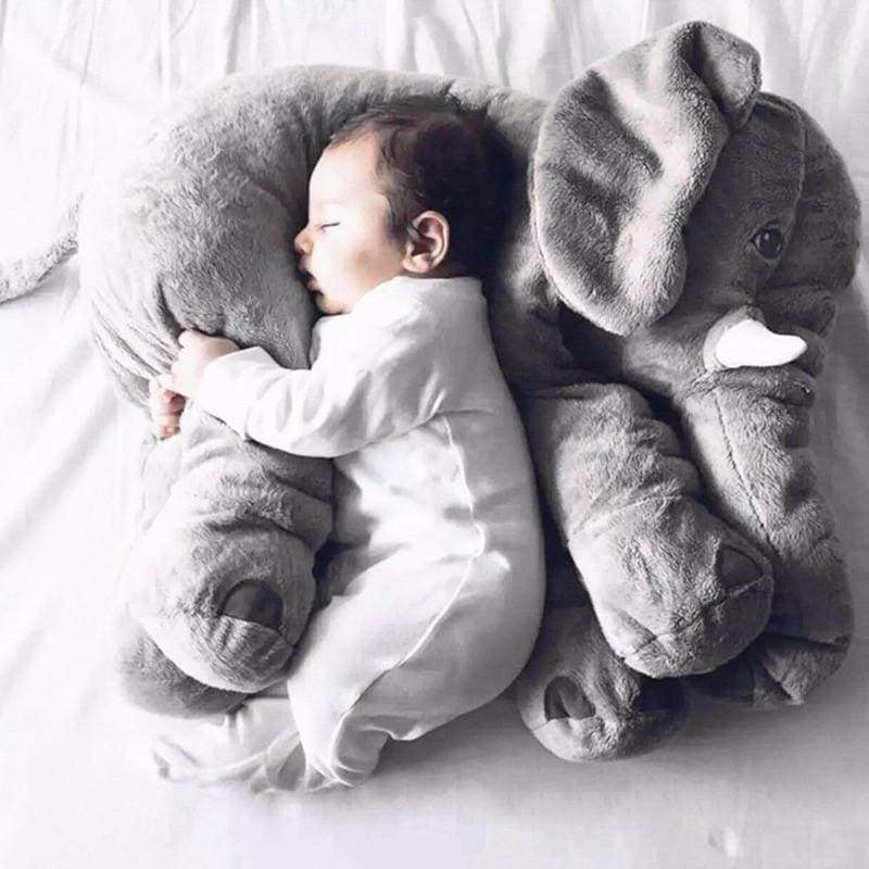 Blu's Baby Boutique 60cm / Gray Baby Elephant Pillow Children Store Toddler Newborn Child Infant Baby Kids Online Store