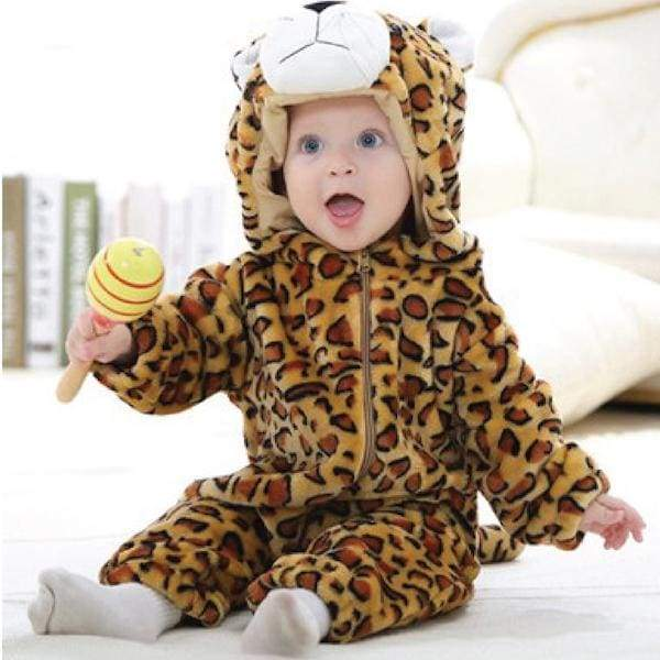 Blu's Baby Boutique Baby Onesie Romper - Leopard Children Store Toddler Newborn Child Infant Baby Kids Online Store