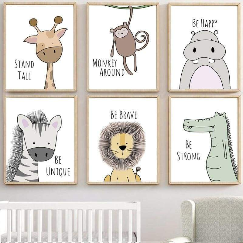 Blu's Baby Boutique Nordic Wall Prints Children Store Toddler Newborn Child Infant Baby Kids Online Store