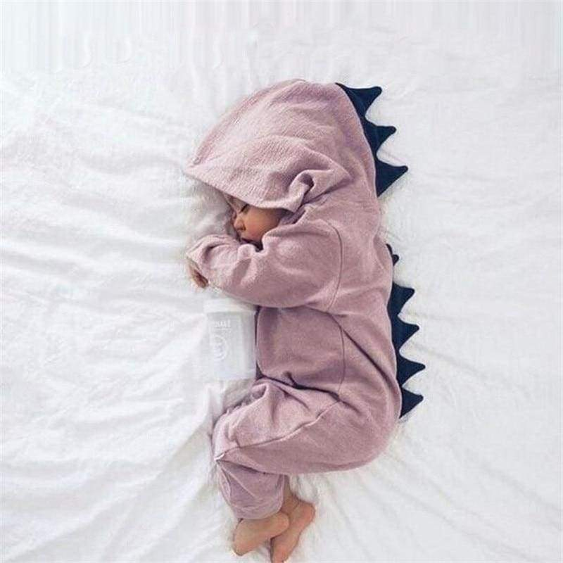 Blu's Baby Boutique Pink / Newborn Dinosaur Baby Romper Onesie Children Store Toddler Newborn Child Infant Baby Kids Online Store