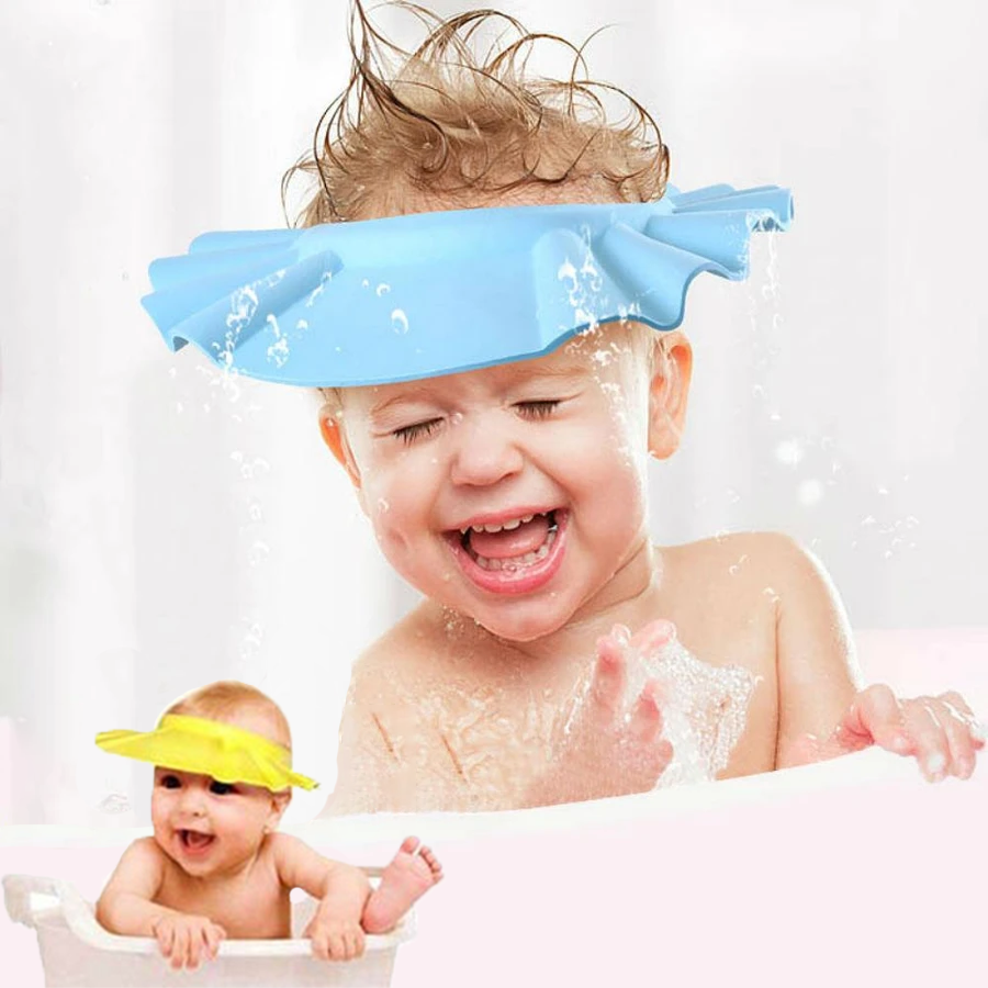 No more tears - Sunflower baby shower cap