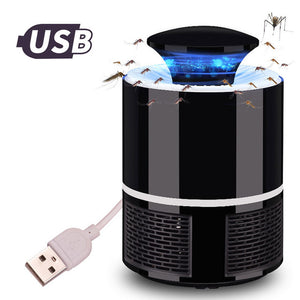 BrilliantAge USB POWERED LED MOSQUITO KILLER LAMP - QUIET AND NON-TOXIC - Brilliant Age Products