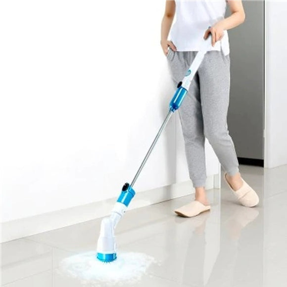 ELECTRIC POWER CLEANING SCRUBBER WITH EXTENSION HANDLE - Brilliant Age Products
