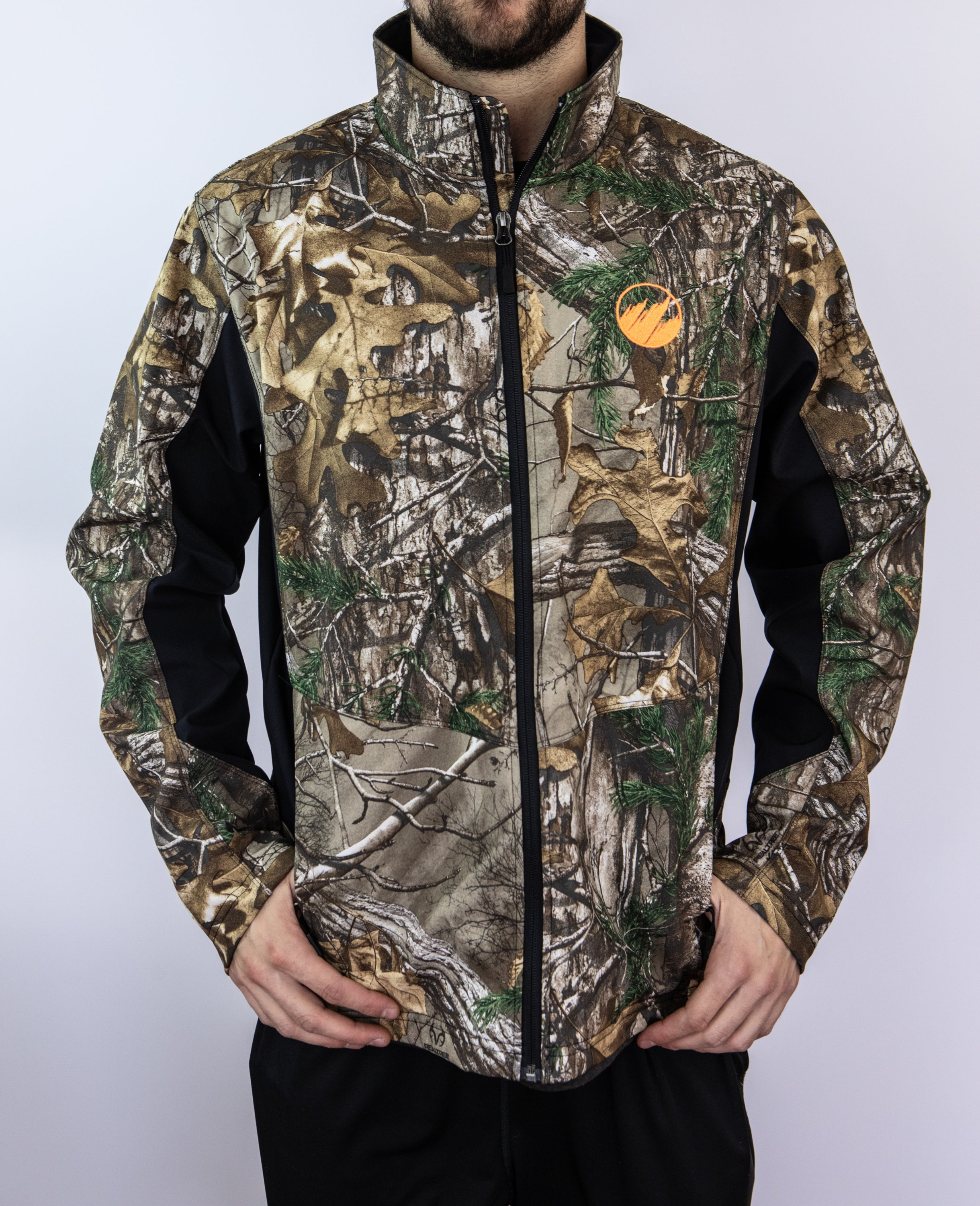 Men's Camo Soft Shell Jacket