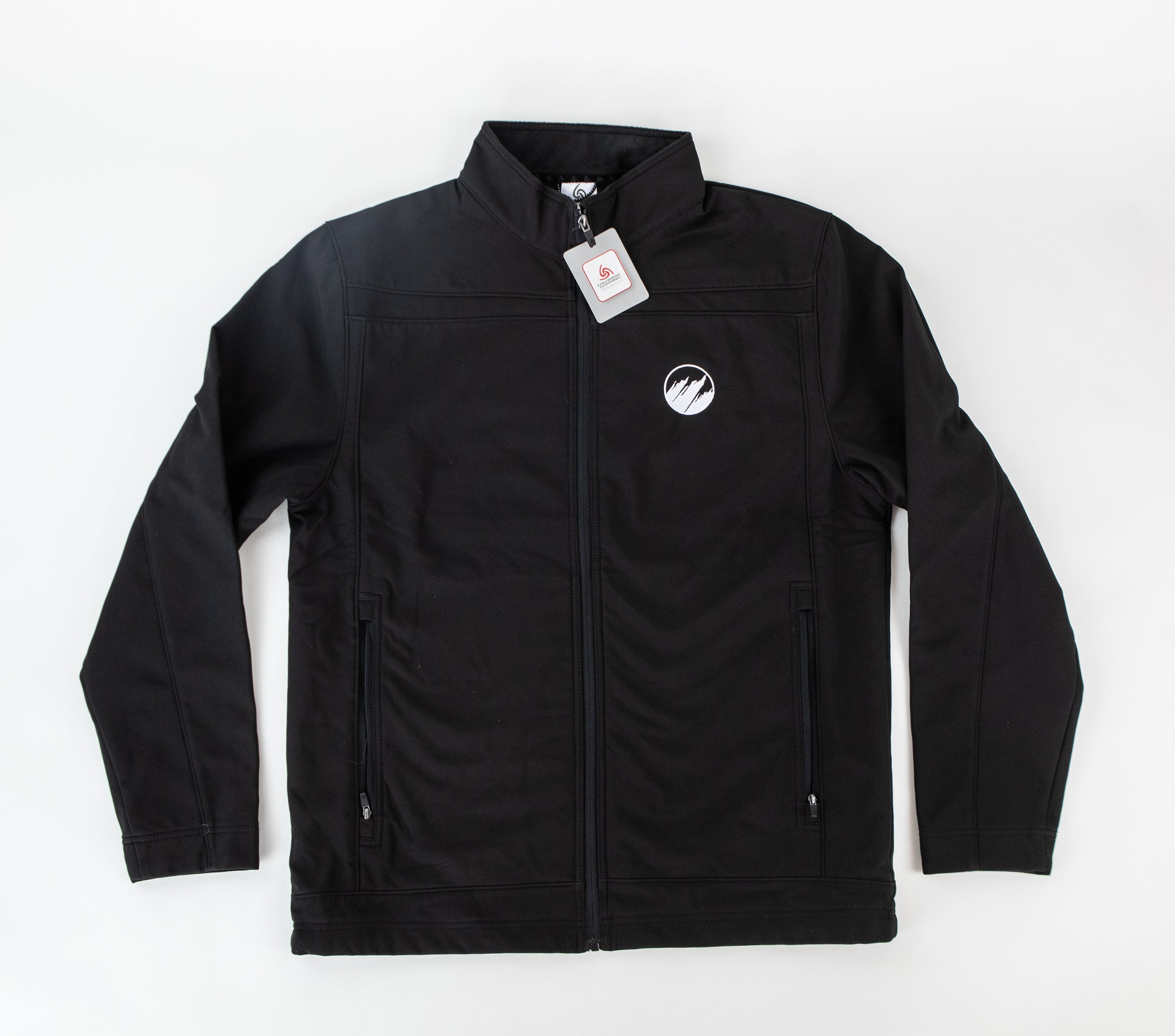 Men's Black Soft Shell Jacket