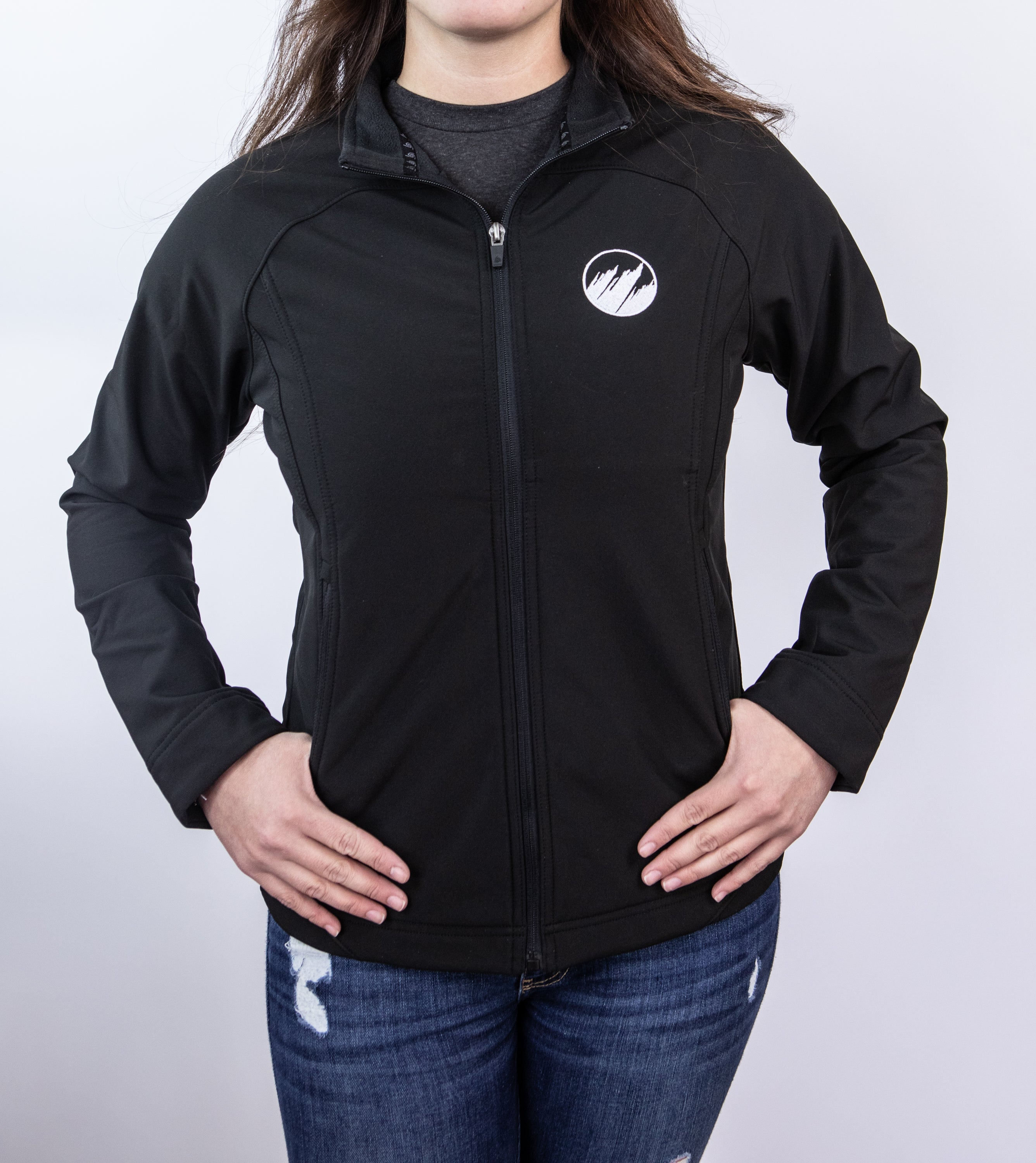 Women's Black Soft Shell Jacket