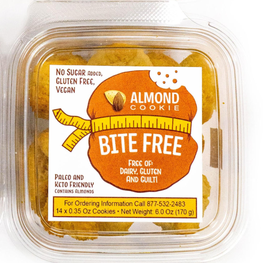 Bite Free - Almond Cookies