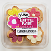 Flower Power 9oz Whole Wheat Shortbread Tubs