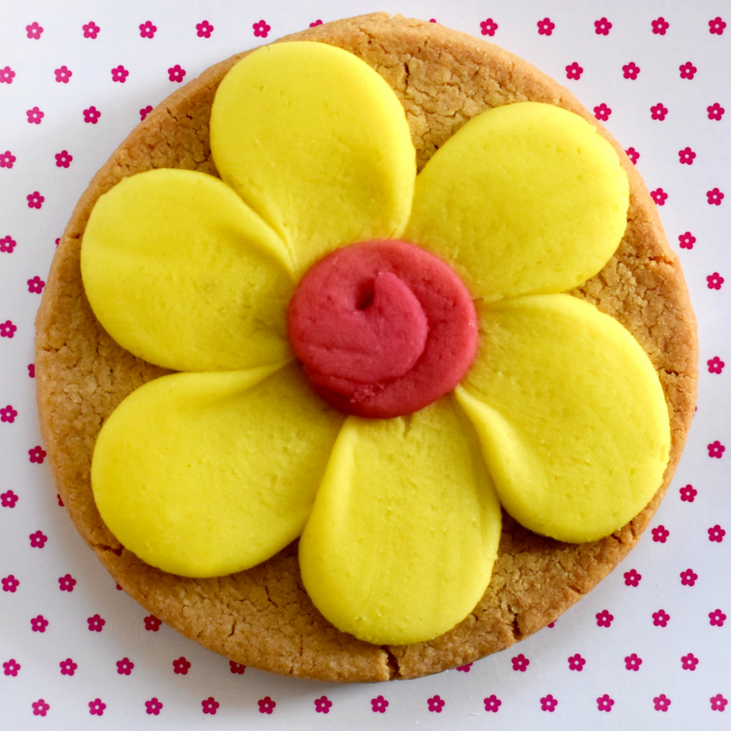 Flower Power 2.5oz Whole Wheat Shortbread Individually Wrapped