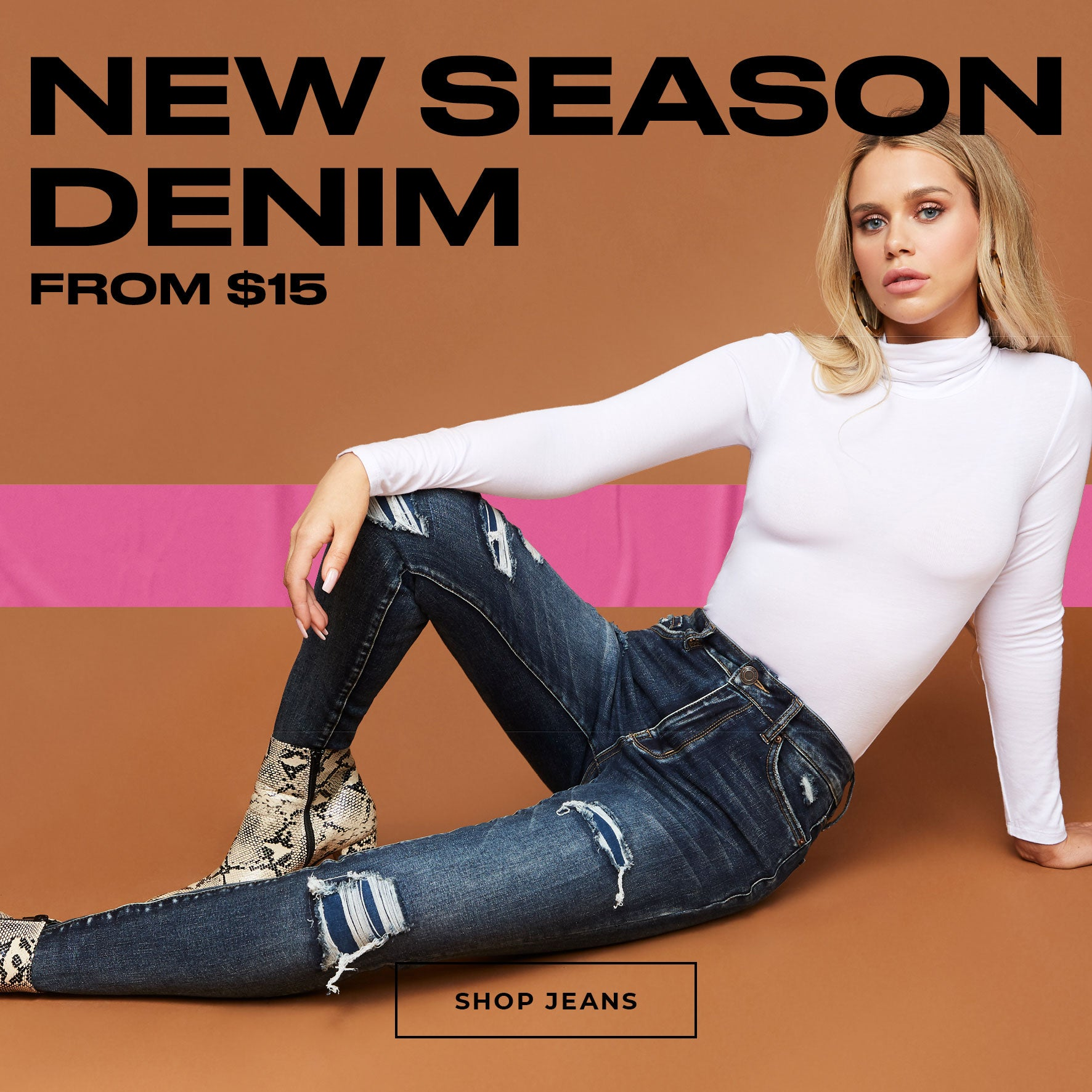Charlotte Russe | New Season Denim from $15 - Shop Jeans
