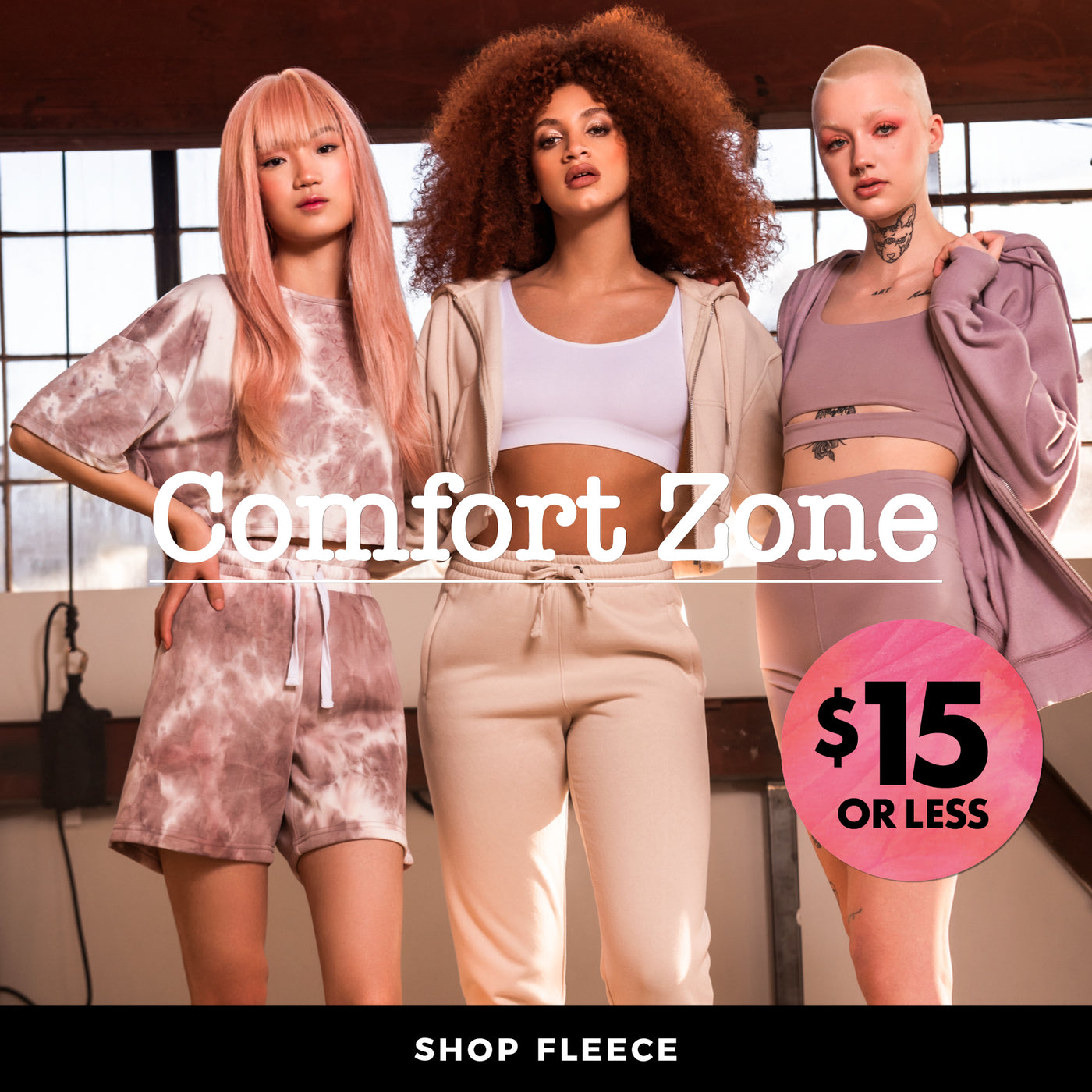 Charlotte Russe | Comfort Zone - Shop Womens Fleece $15 or less