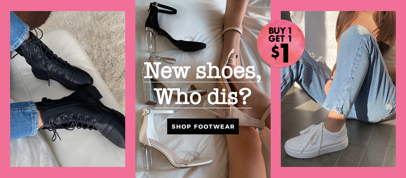 Charlotte Russe | Shop Footwear - Buy 1 Get 1 for $1