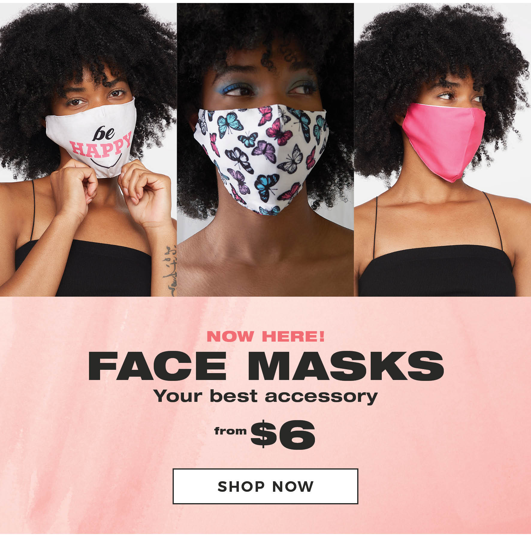 Charlotte Russe | Face Masks - Shop Now