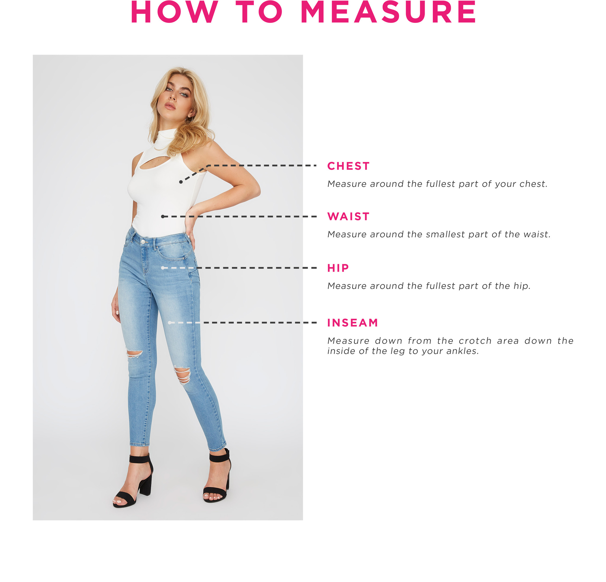 Charlotte Russe - How To Measure