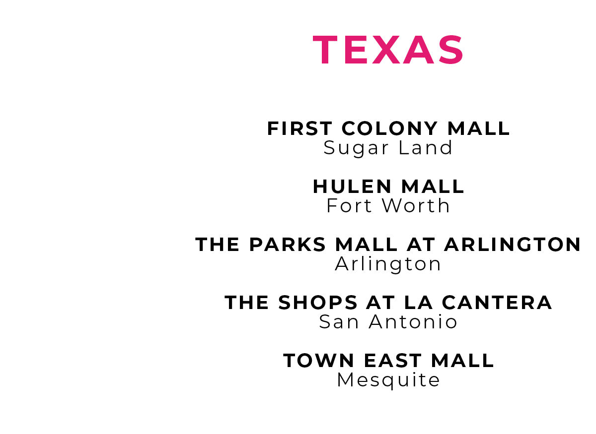 Charlotte Russe | Store Locations - Texas