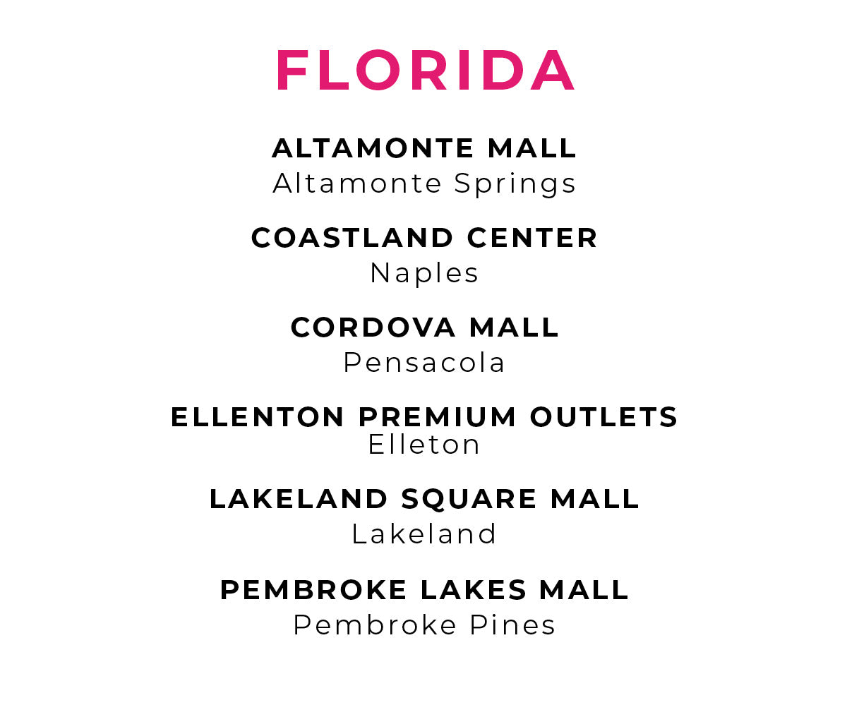Charlotte Russe | Store Locations - Florida