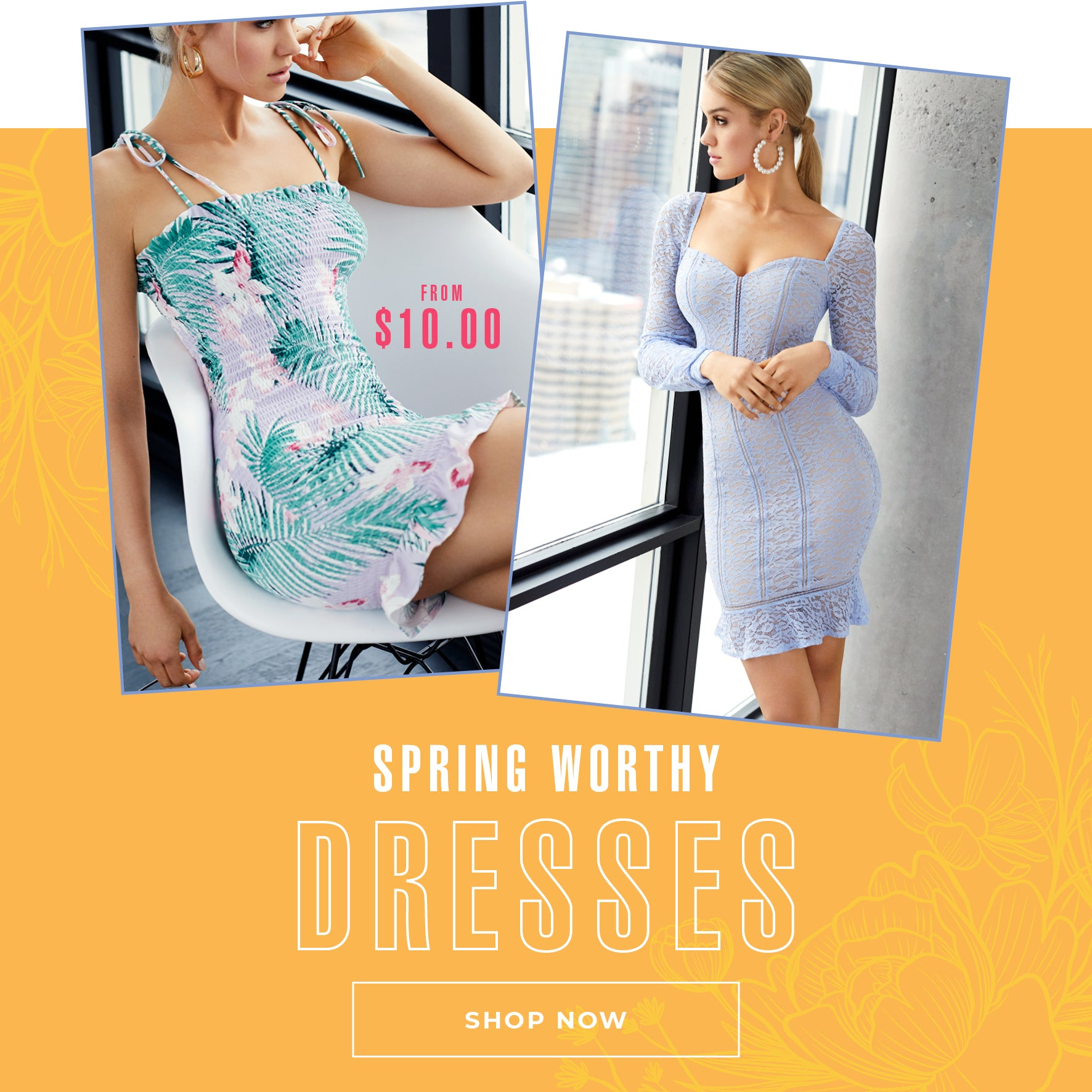 Charlotte Russe | From $10.00 - Spring Worthy Dresses - Shop Now
