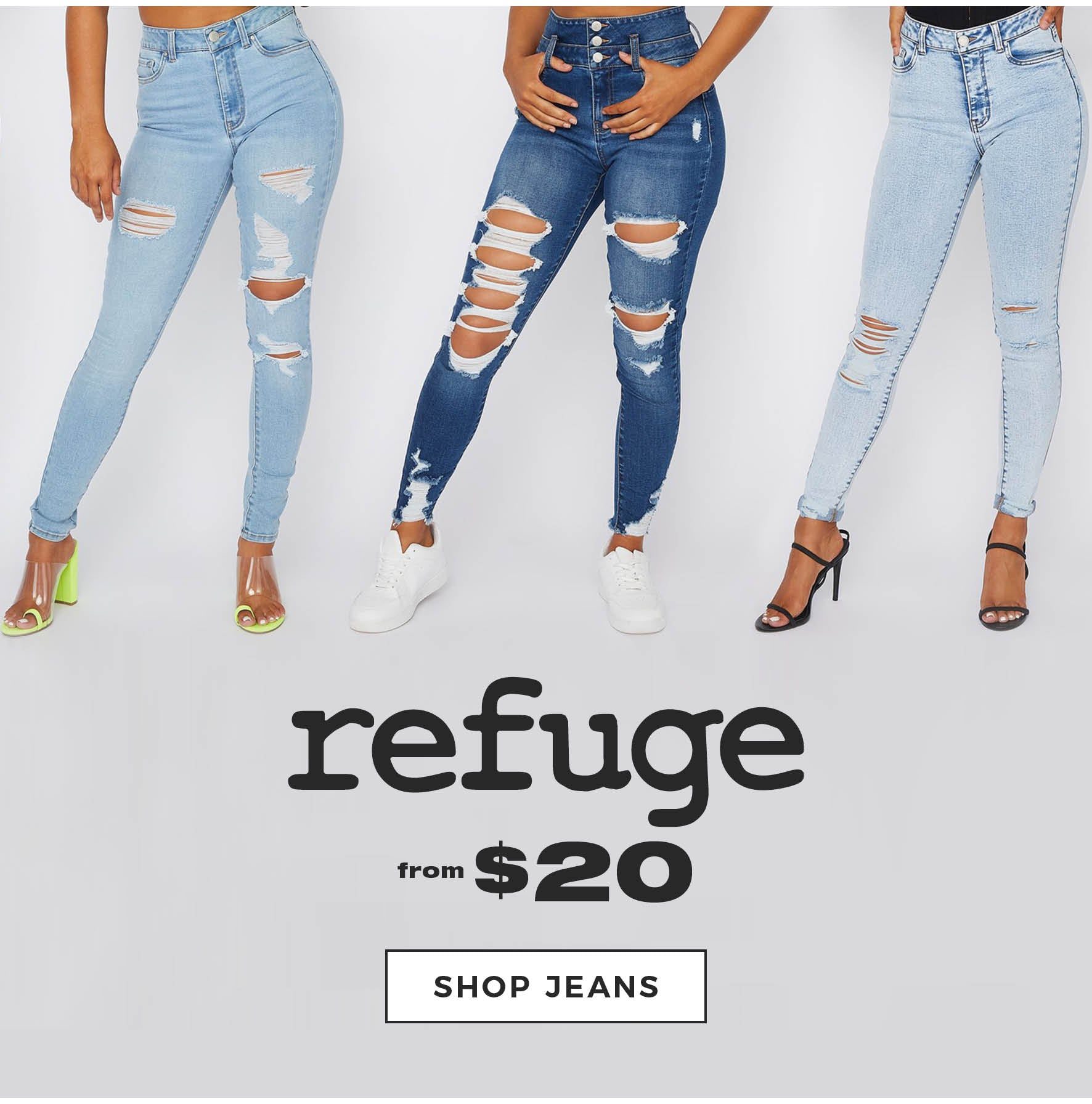 Charlotte Russe | Refuge from $20 - Shop Jeans