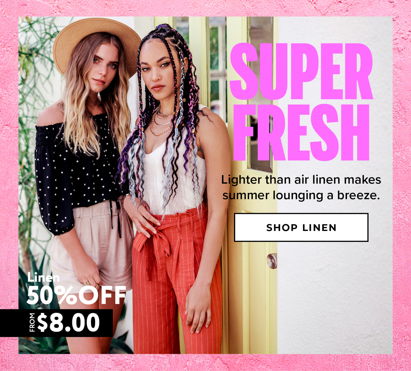 Charlotte Russe | 50% Off Linen - Shop Now
