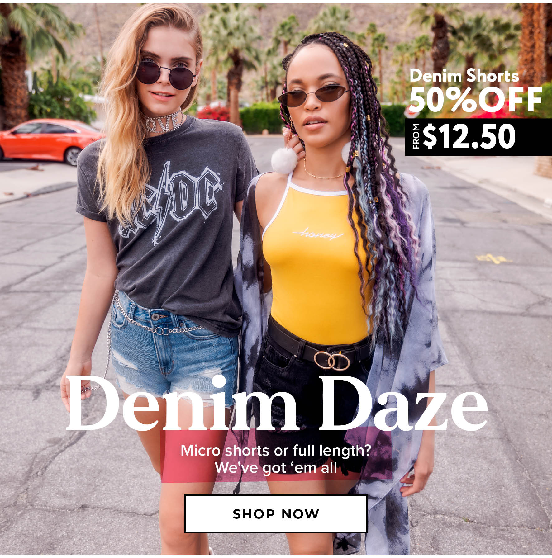 Charlotte Russe | 50% Off Denim - Shop Now