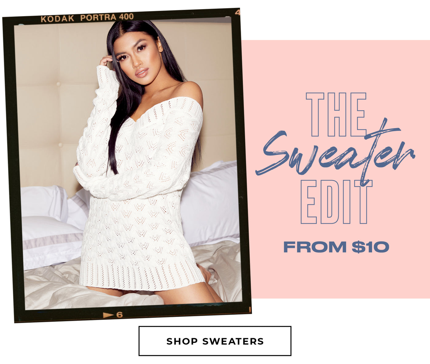 Charlotte Russe | The Sweater Edit - From $10 - Shop Sweaters