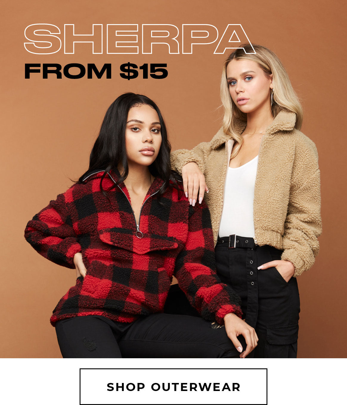 Charlotte Russe | Sherpa from $15 - Shop Outerwear