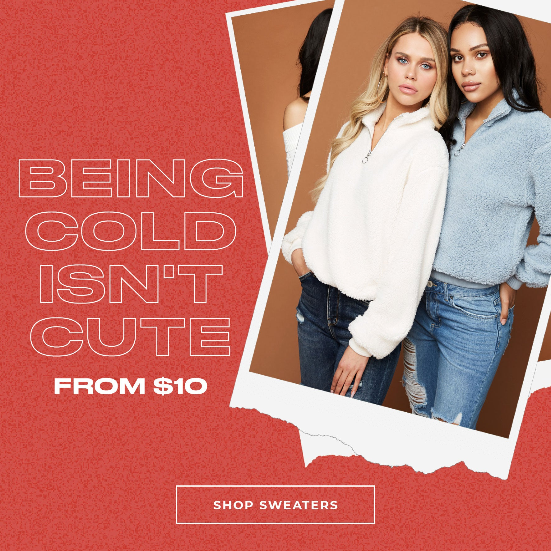 Charlotte Russe | Being Cold Isn't Cute - From $10 - Shop Sweaters