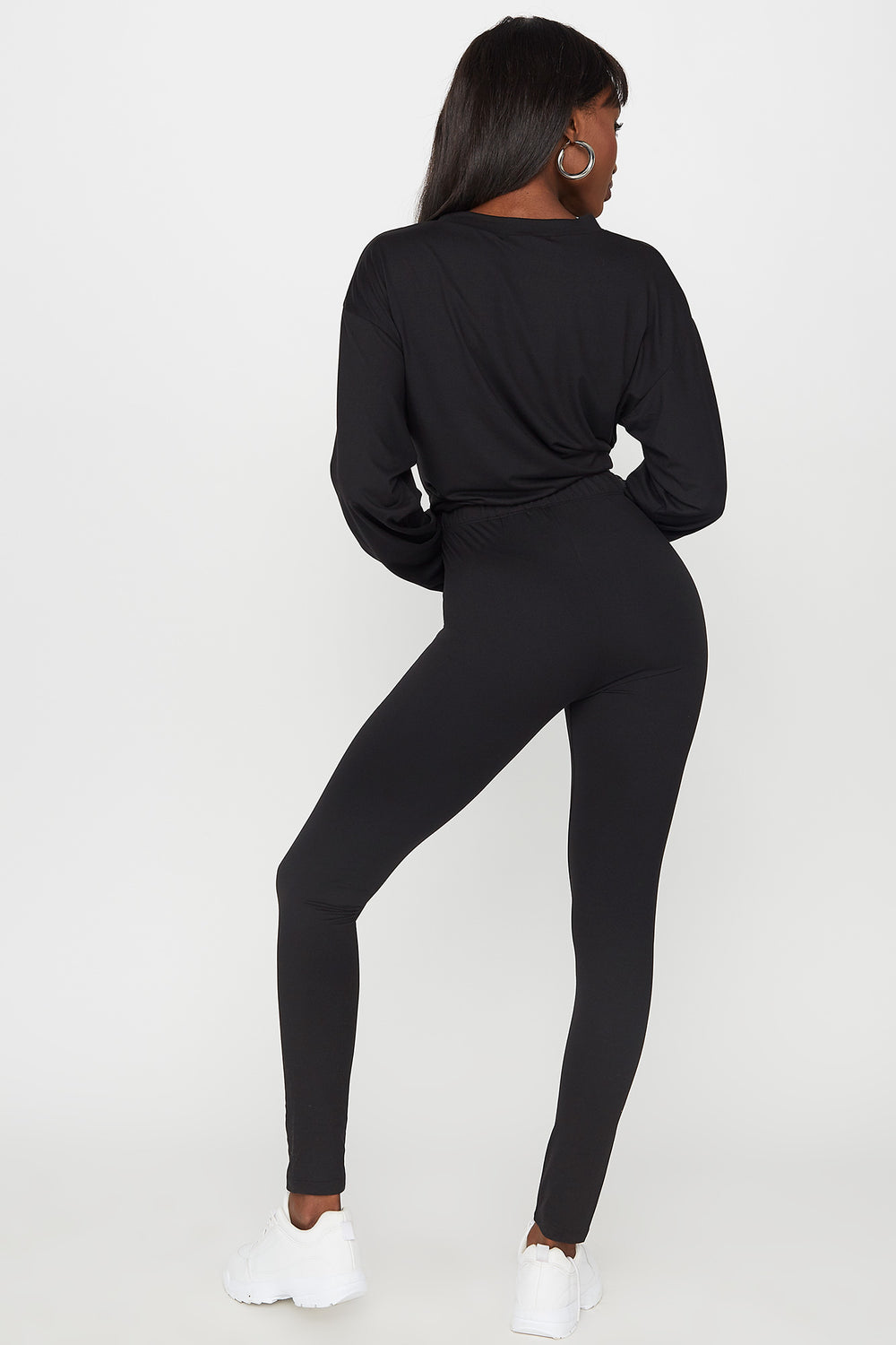 High-Rise Legging Black