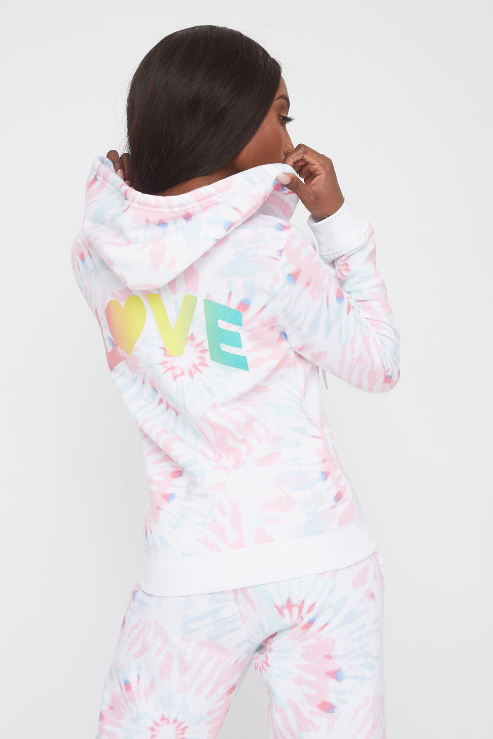 Graphic Classic Zip-Up Hoodie Multi