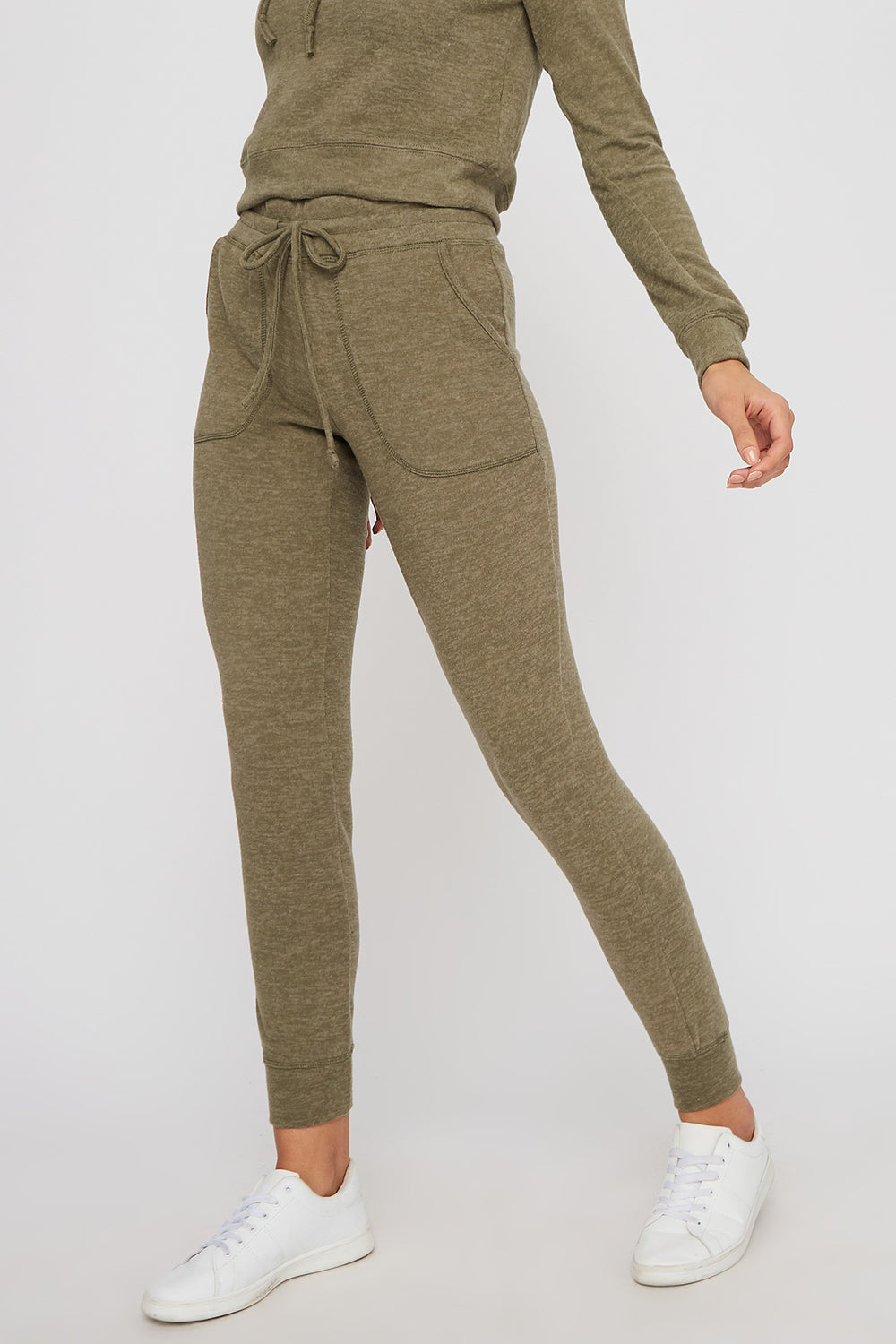 Super Soft Brushed Pocket Jogger Sage