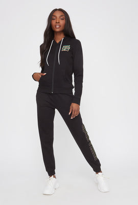 Graphic High-Rise Jogger