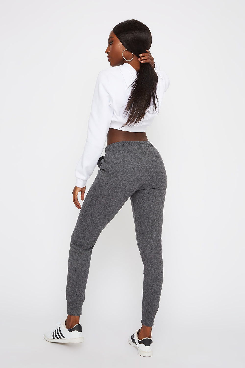 Soft Fleece Jogger Charcoal
