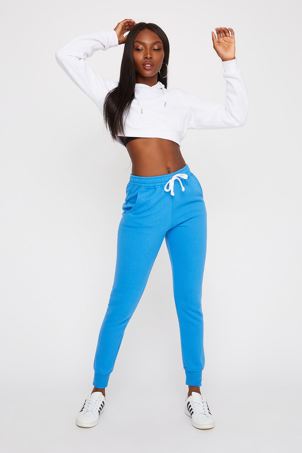 Soft Fleece Jogger Blue