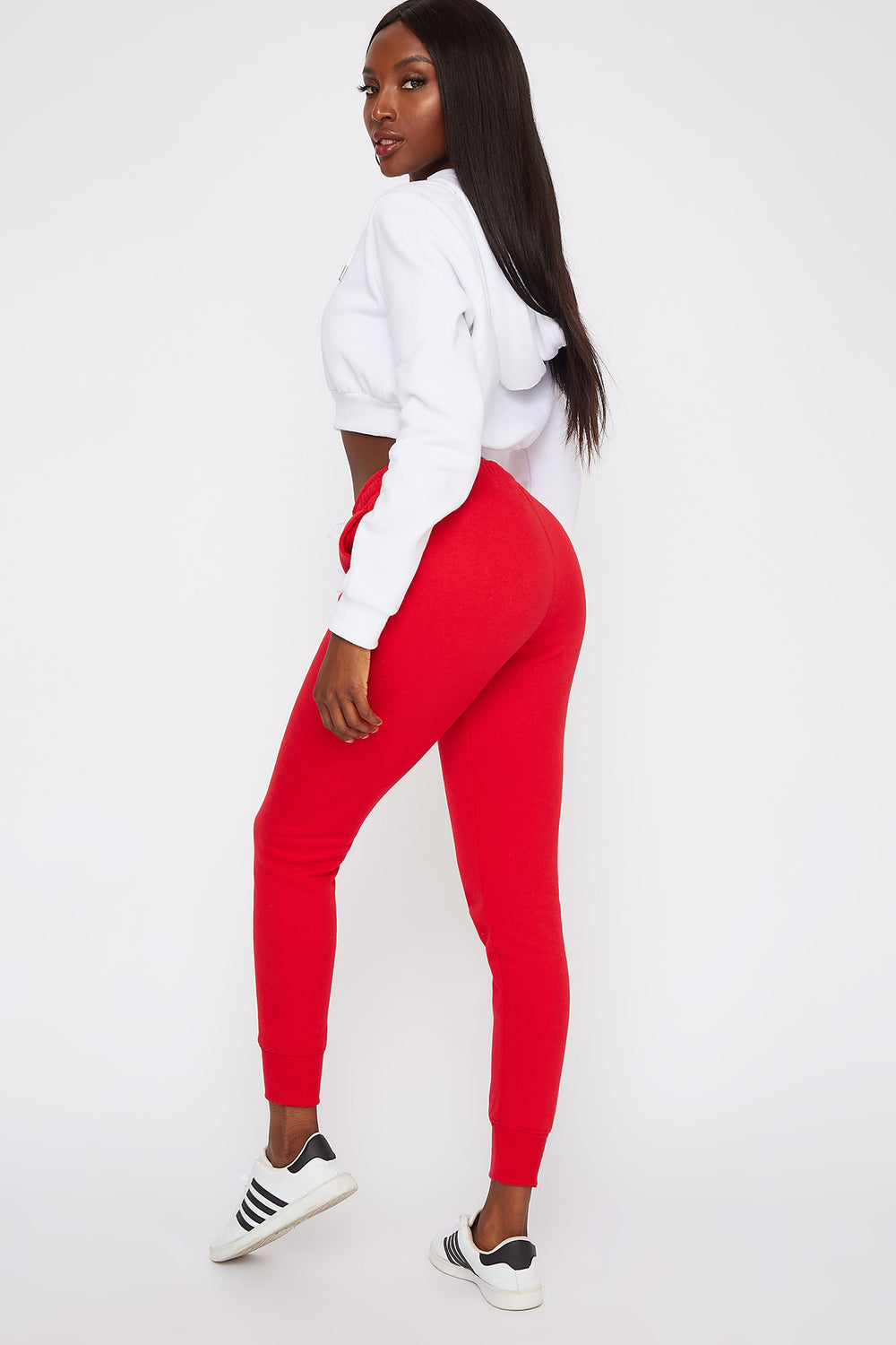 Soft Fleece Jogger Red