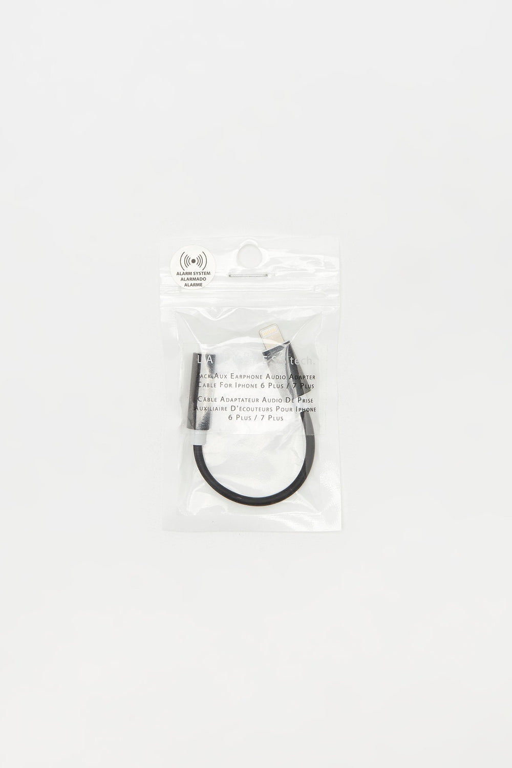 iPhone Earphone Audio Adapter Black