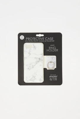 Ring Holder iPhone Case Set