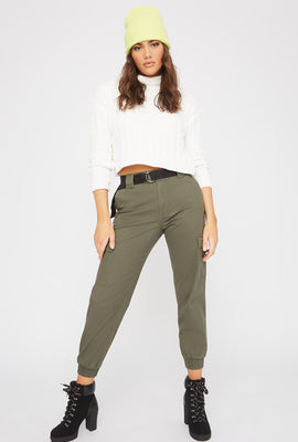 D-Ring Belted Cargo Pant
