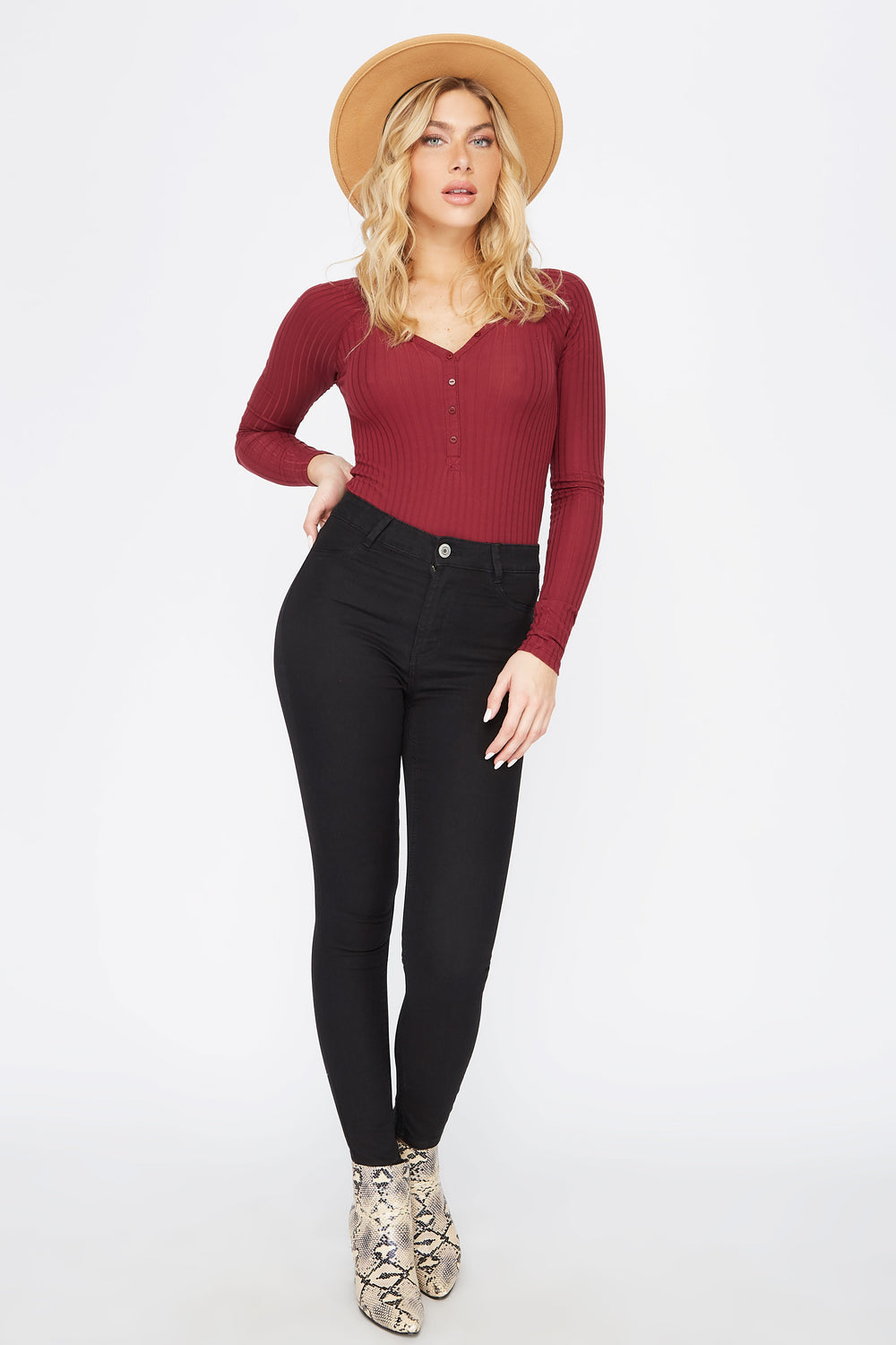 Classic High-Rise Jegging Black