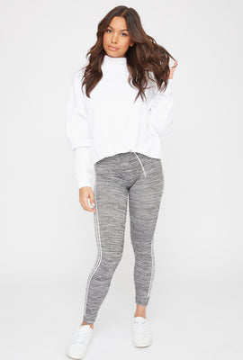 Leggings con Franja Lateral