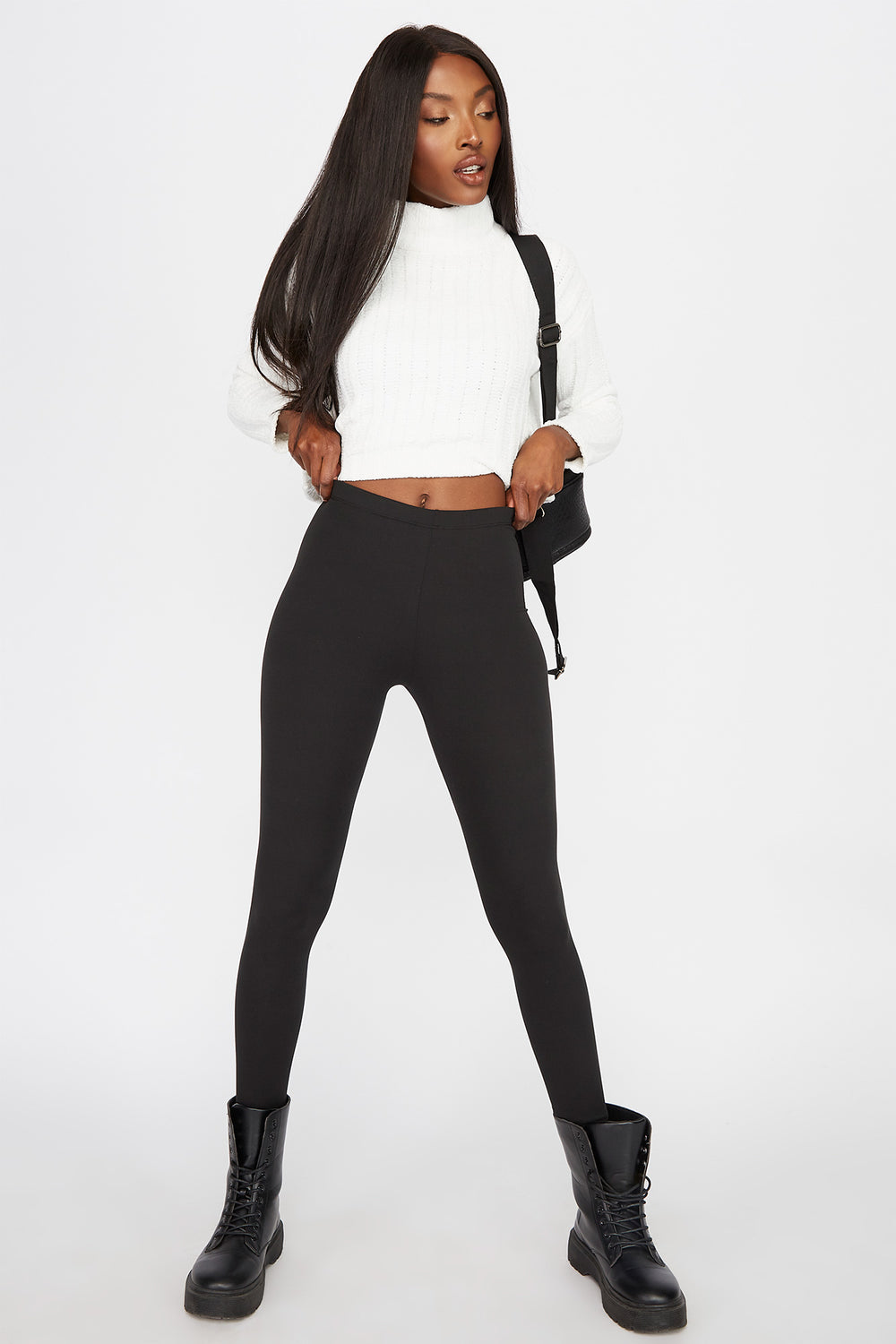 Basic Soft Legging Black