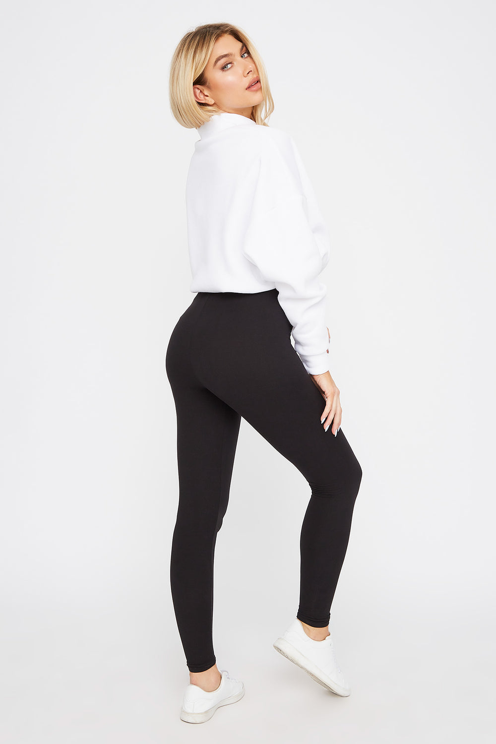 Super Soft Basic Legging Black