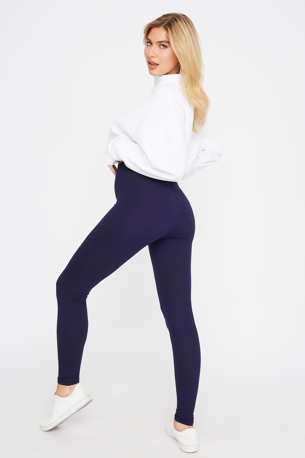 Super Soft Basic Legging Navy