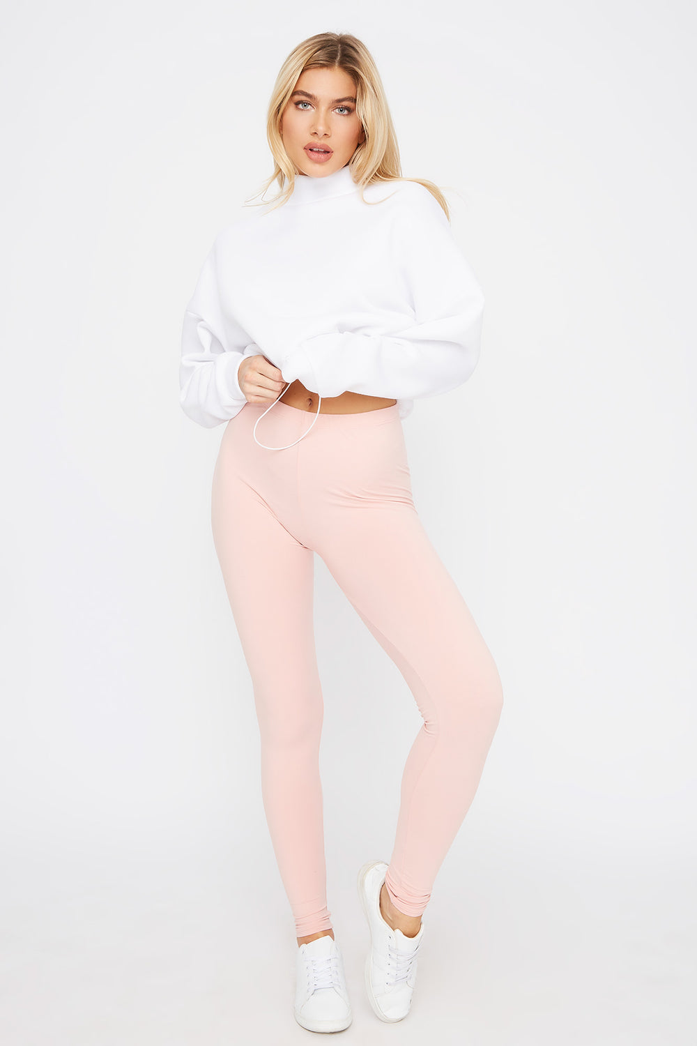 Super Soft Basic Legging Light Pink