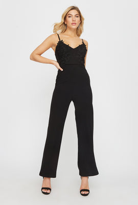 Sweetheart Lace Jumpsuit