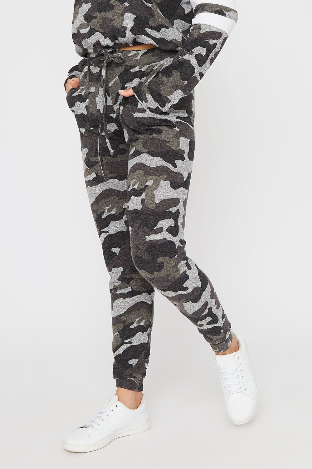 Super Soft Brushed Graphic Jogger Camouflage