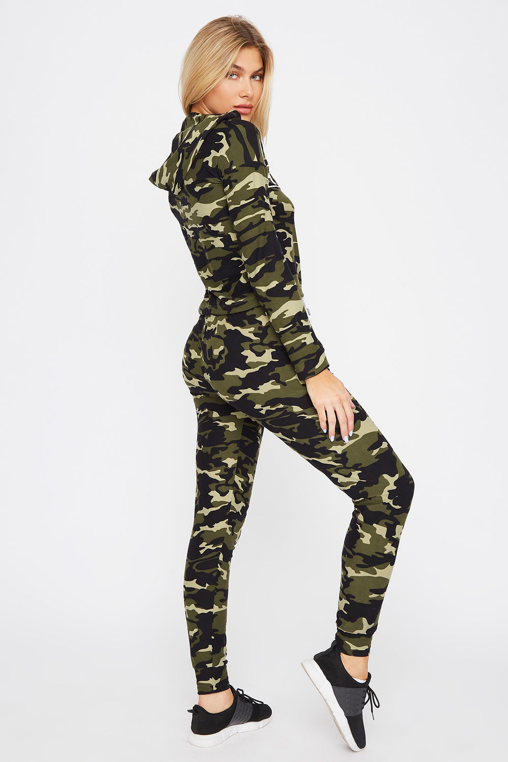 Soft Graphic Drawstring Jogger Camouflage